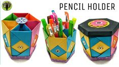 Pencil Holder | Box with Lid - DIY Tutorial!