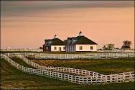 A big ranch, with lots of room for lots of horses :) oh what a dream it would be to live on a big ranch with lots of horses!