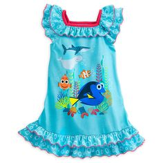 Finding Dory Nightshirt for Girls | Nightshirts | Disney Store