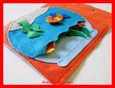 KhadeCreativa.com Fish Bowl Quiet Book Page Last Chance by FreckledFelt on Etsy source by :http://pinterest.com/pin/254101603951887335/
