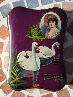 George W Horner 'Dainty Dinah' Brazil Toffee tin with by Tinternet