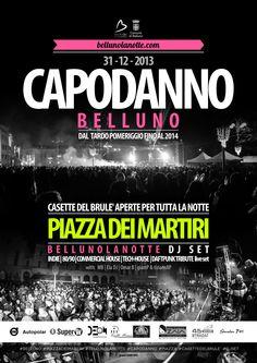 #capodanno #manifesto #belluno #bellunolanotte #graphic #flyer