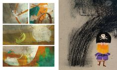 Visual, Illustration, Painting, Animation, Art, Book Illustration, Gonzales, Book Art