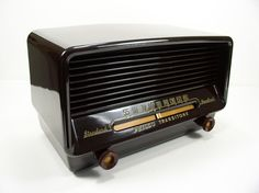 Stunning Example Restored Mid Century Art Deco Philco Tube Radio Plays Great | eBay