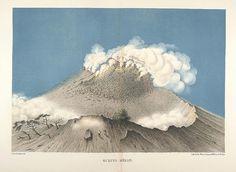 Java seine Gestalt, Pflanzendecke und innere Bauart 1857 (Junghuhn) Gunung-Merapi by peacay, via Flickr