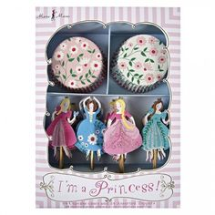Princess Cupcake Kit By Meri Meri