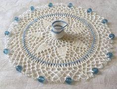 Free Crochet Pattern - Milk Jug Cover with Figural Milk Jug