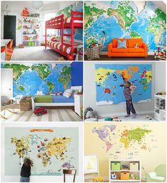 World Wall Map Inspiration