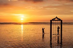 Gonna set up a replica of the Gili Trawangan Swing in Playa Del Carmen - photo courtesy of Chris Deeney