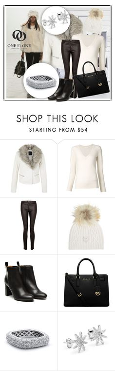 """""""SHOP - One by One Jewellery"""" by ladymargaret ❤ liked on Polyvore featuring sass & bide, Chloé, Paige Denim, M. Miller, Stephane Kélian and MICHAEL Michael Kors"""