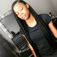 3 layered tribal # tribal Braids with bangs # tribal Braids with bangs Box Braids Hairstyles, My Hairstyle, Girl Hairstyles, Lemonade Braids Hairstyles, American Hairstyles, Black Girl Braids, Braids For Black Hair, Girls Braids, Ghana Braids