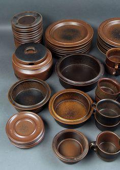 Arabia Ruska. Kaffe/middagsservice af stentøj 80 dele & Arabia Finland Ruska dinnerware. Hygge. | For the Home | Pinterest ...