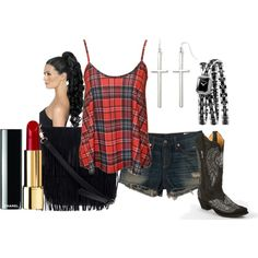 """cowgirl"" by alicia-816 on Polyvore"