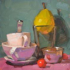 Carol Marine, daily paintings