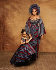 African Dresses For Kids, Latest African Fashion Dresses, African Dresses For Women, African Print Dresses, African Print Fashion, African Attire, Blake Lively, African Lace Styles, Mother Daughter Fashion