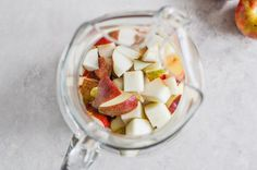 Apple Sangria. Would be a gorgeous fall drink.   #fallwedding