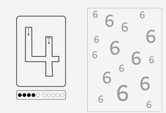 Lernstübchen: Ziffernschreibkurs 4 5 6 große Zahlen (2)