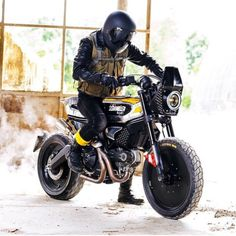 caferacersofinstagram: A custom Ducati Scrambler made by...  caferacersofinstagram:  A custom Ducati Scrambler made by Vibrazioni Art Design in conjunction with @scramblerducati and @pirellimoto. What do you think? Itd be so much fun to customize one of these!  #croig #caferacersofinstagram