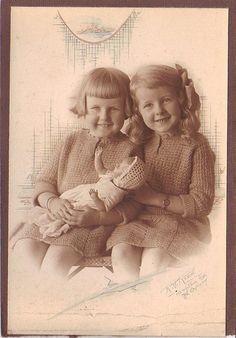 Norma and Alma Frances Bertram early 1920''s