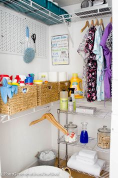 DIY basement laundry