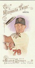 2014 Topps Allen Ginter Baseball Mini #51 Oswaldo Arcia, Minnesota Twins