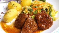 No Salt Recipes, Cooking Recipes, Healthy Recipes, Czech Recipes, Ethnic Recipes, Salty Foods, Restaurant Recipes, Grill Restaurant, Potato Recipes