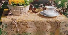 Crochet: Tablecloth round