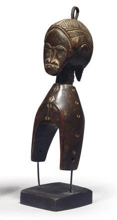 POULIE BAOULE Art Africain, Ivoire, Lion Sculpture, Statue, African, Locs, Sculptures, Sculpture