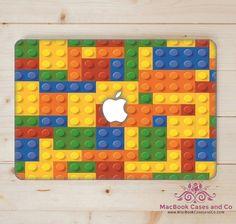 MacBook Skin. Laptop Skin. Lego by MacBookCasesandCo on Etsy