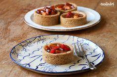 Jablkové tartaletky so slaným karamelom - Coolinári Waffles, Pancakes, Tart, Sweet Treats, Cheesecake, Pie, Sweets, Breakfast, Blog
