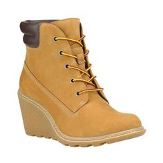 Timberland - Bottines Earthkeepers Amston 6-inch Boot Femme - Wheat