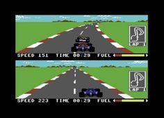 Pitstop 2, Commodore C64