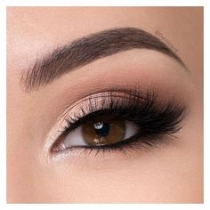 Natural Smokey Eye ❤ liked on Polyvore featuring beauty products, makeup, eye makeup, paraben free cosmetics and paraben free makeup