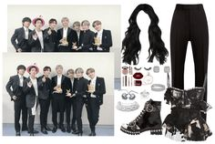 KPOP OUTFIT || RED BULLET