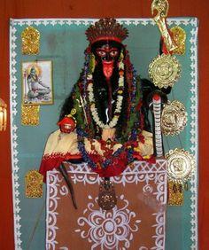 Mother Kali, Kali Goddess, Hindu Deities, Gods And Goddesses, Spirituality, Clock, Illustration, Women, Fashion