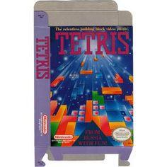 Tetris - Empty NES Box