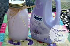 Mommy's Kitchen: Homemade Fabric Softener