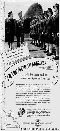 1943, USMC Women's Reserve