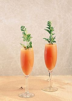 Carrot Mimosa! #Easter