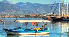 A local fisherman of Fethiye, Turkey
