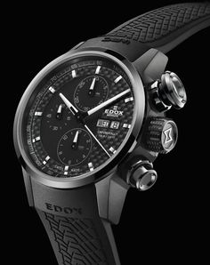 Edox Chronorally Automatic Chronograph