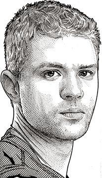 99 Wall Street Journal Hedcuts by Randy Glass Portrait Sketches, Portrait Illustration, Drawing Portraits, Male Face Drawing, Advanced Higher Art, Bass Fishing Shirts, Stippling Art, Celebrity Caricatures, Circle Art