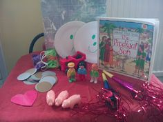 Flame: Creative Children's Ministry: Story at home bags- The Prodigal Son