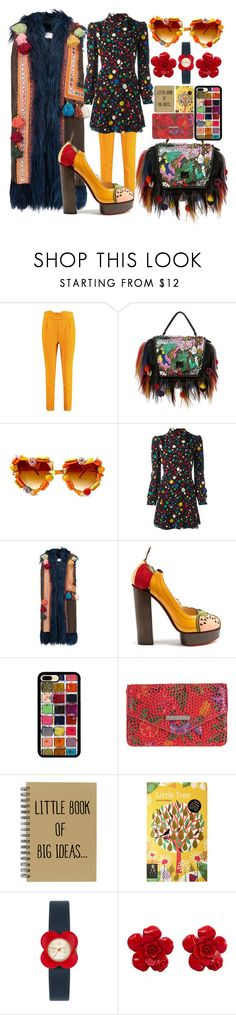 """""""Edgy Colorful L👀k"""" by sanya-styleup ❤ liked on Polyvore featuring Boohoo, Giancarlo Petriglia, Gasoline Glamour, Yves Saint Laurent, Stella Jean, Charlotte Olympia, Lodis, Orla Kiely and Chanel"""