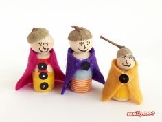 MollyMooCrafts Try it: Acorn Craft for Kids