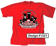 Customizable Kingdom Themed VBS T-shirt