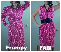 Frumpy to Fab! Dress Tutorial | Alida Makes