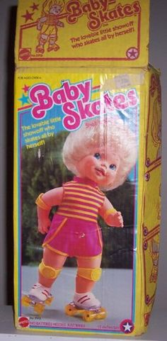 I loved this doll. I remember when my friend got her for her birthday and she just kept falling over.
