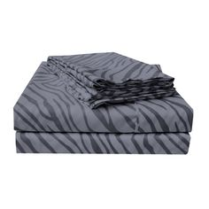 Wrinkle-resistant Animal Print Sheet Set and Pillowcase Separates | Overstock™ Shopping - Great Deals on Sheets