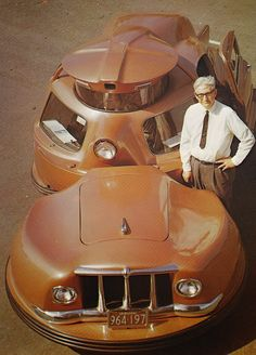 """1958 W.C. Jerome's """"Safety Car"""", Sir Vival   Featured at the 1958 Worlds Fair"""